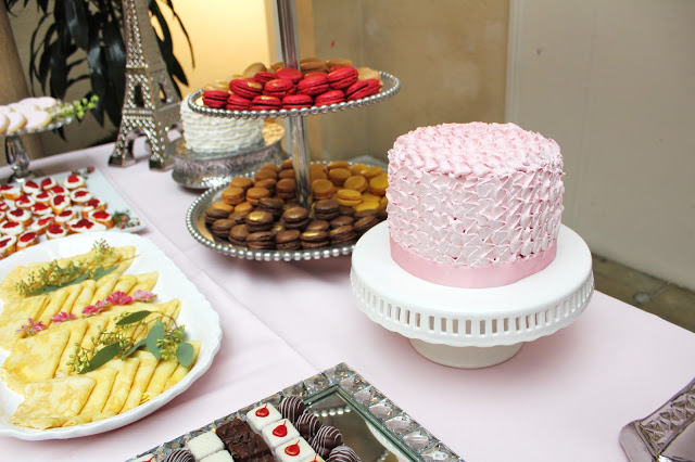 PARIS THEMED BRIDAL SHOWER WITH SHADES OF PINK